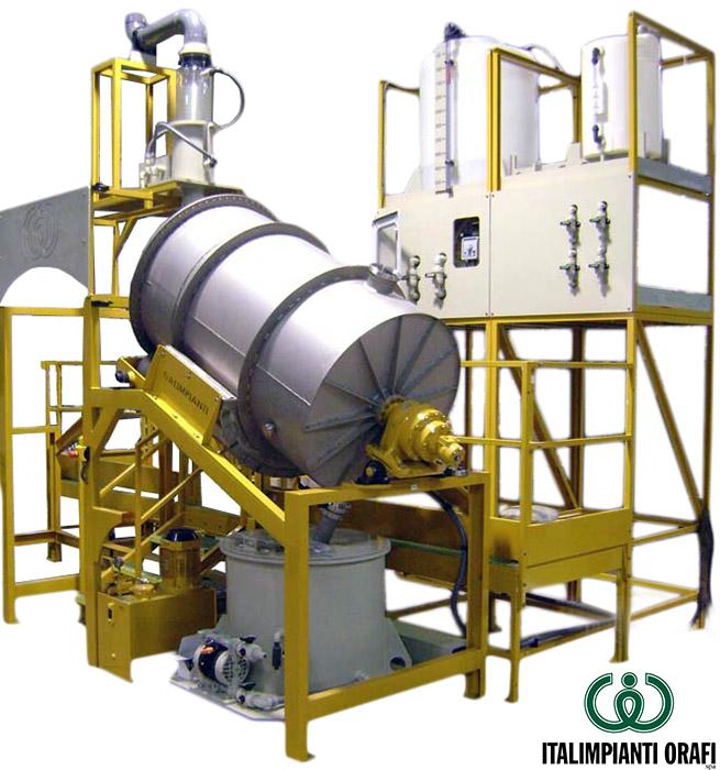 Refining Platinum: Pre-Refining Unit For Low Karat Gold Alloys