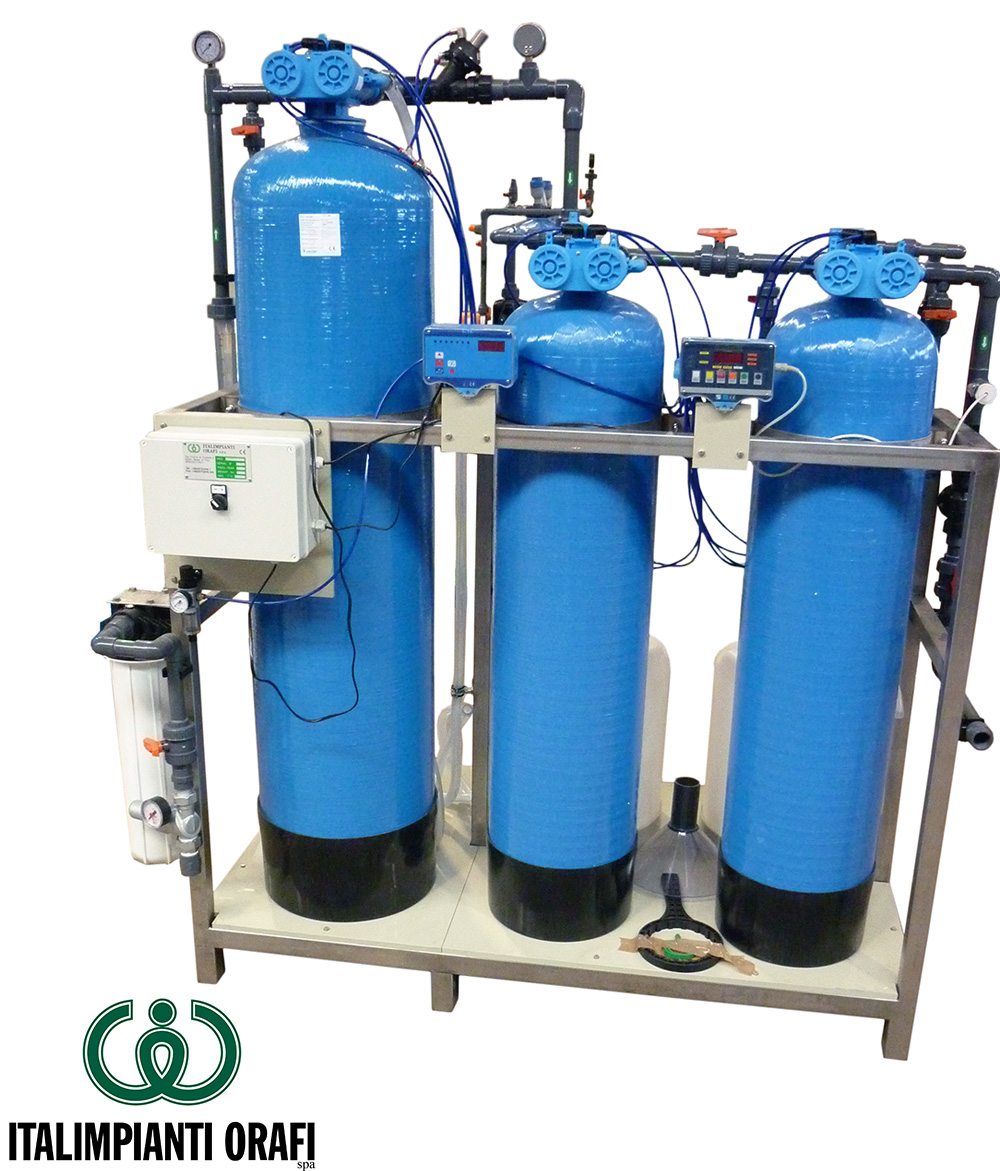 Demineralization Plants + Activated Carbon
