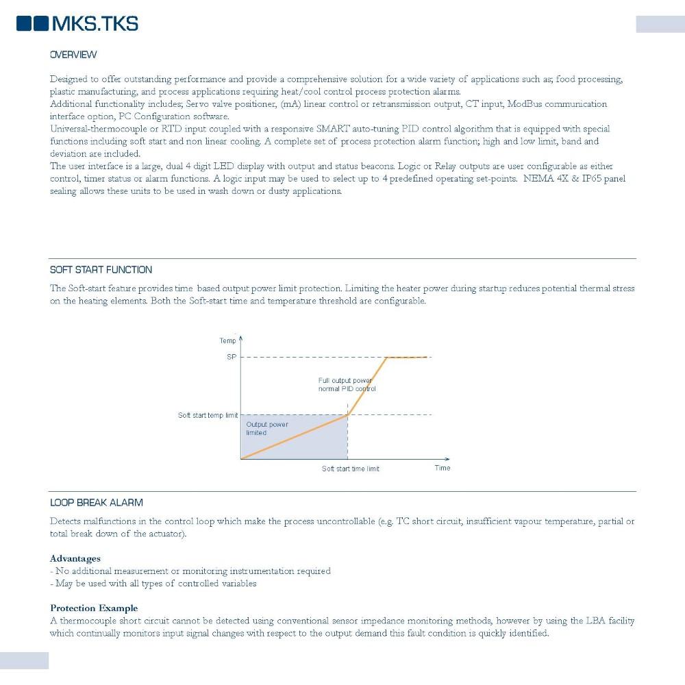Temperature ControllerMKS-TKS Series | Italimpianti Orafi