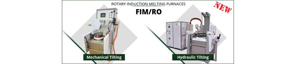 Rotary Induction Melting Furnace