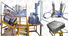 Impianto per la Produzione di Sale di Nitrato d'Argento