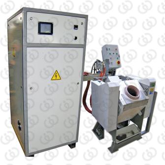 Hydraulic tilting melting furnace - FIM/CPU