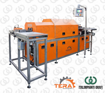 Tunnel Furnace for Gold and Silver Bars Production - T-BARMASTER