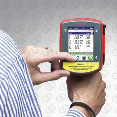 Portable Analyzer XRF - Display