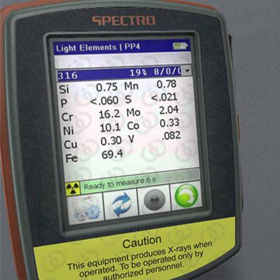 Portable Analyzer XRF - Test
