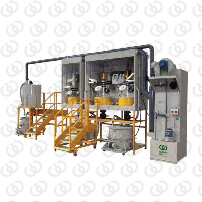 Static Glass Refining Plant IAO50-20