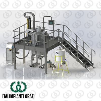 Gas atomizer - Render