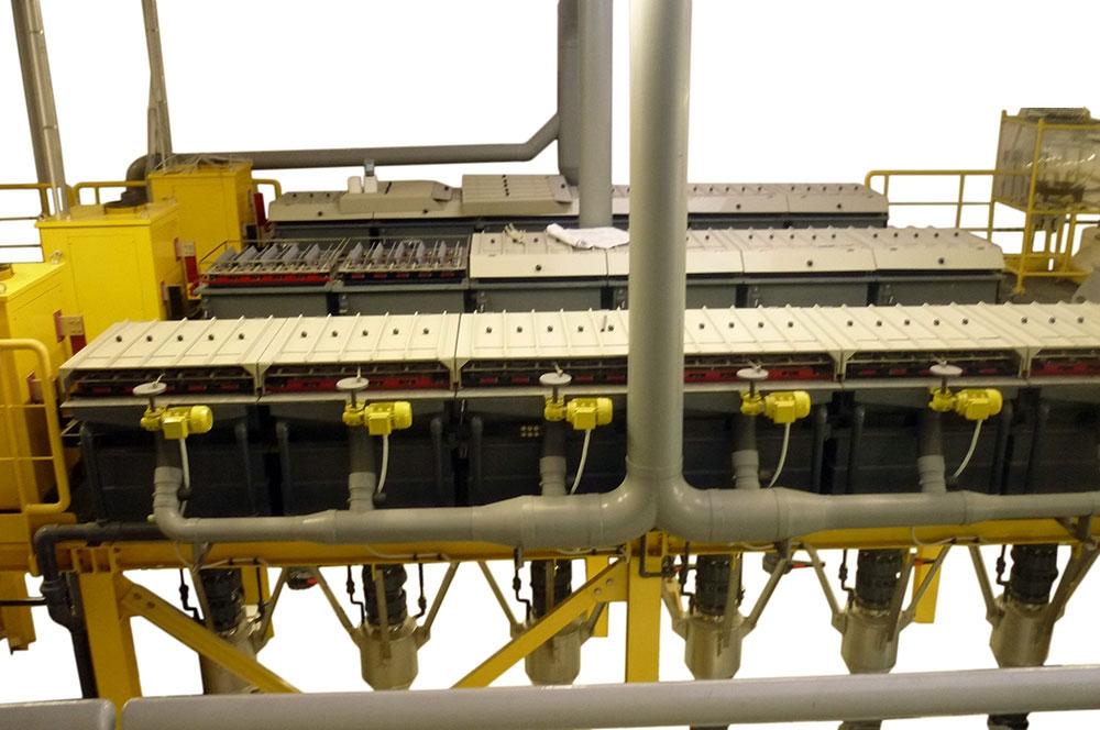 Impianto Affinazione AFF600