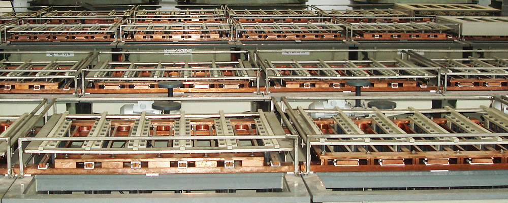 Impianto Affinazione Argento AFF800