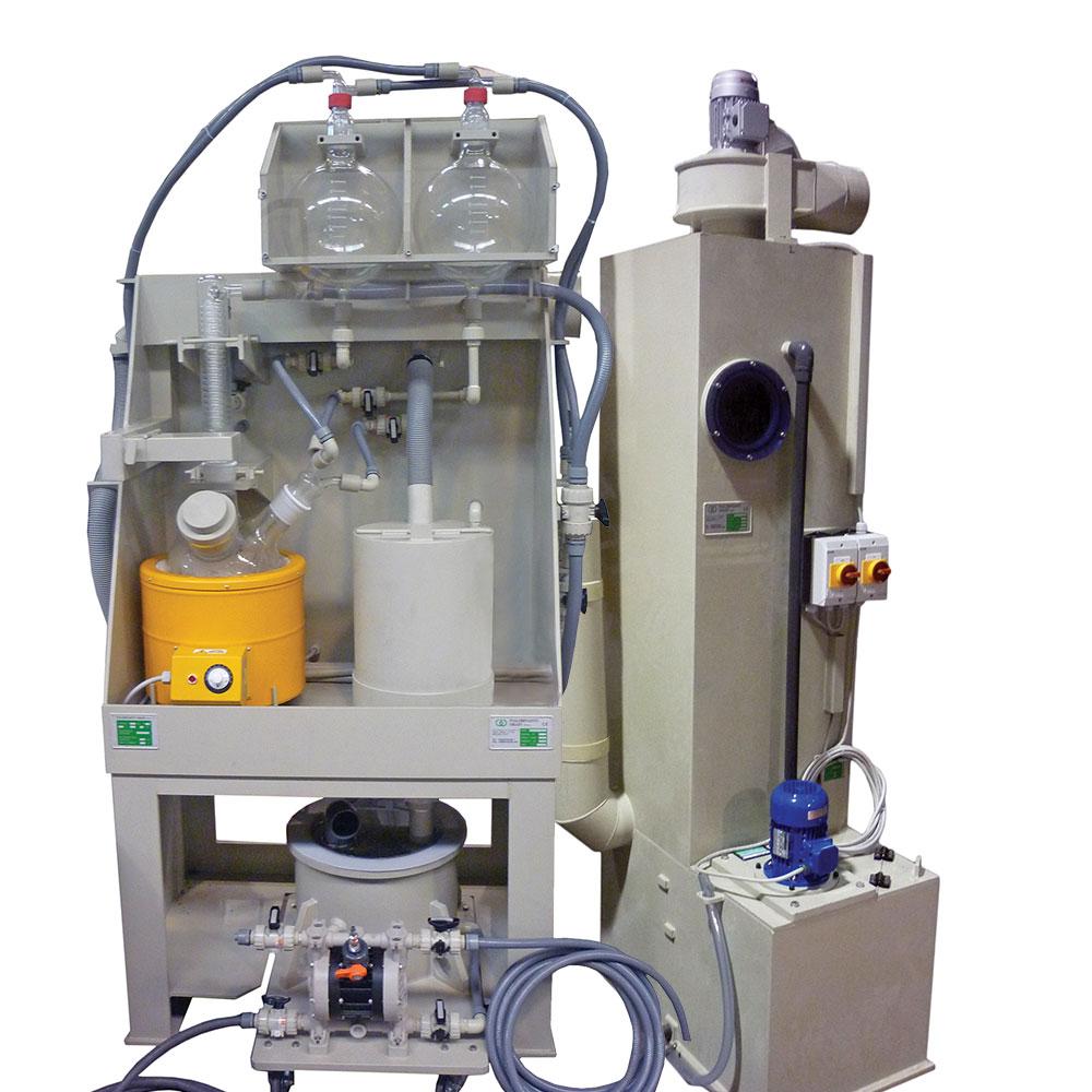 Static Glass Refining Plant IAO10