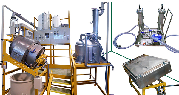 Silver Nitrate Salt Production Unit